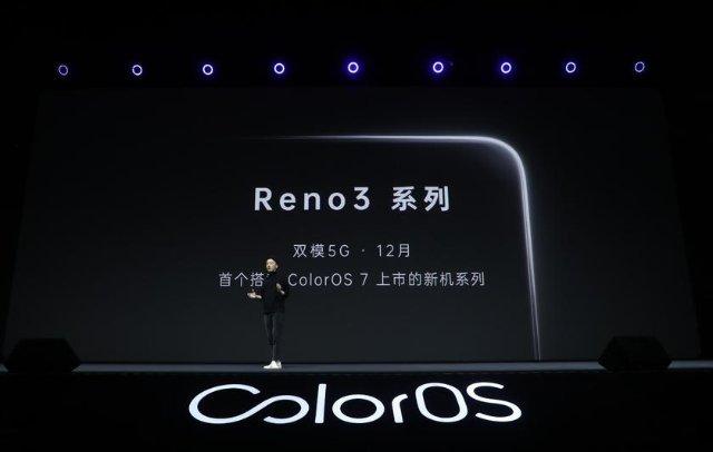 Oppo готовит смартфон Reno 3 с 5G и Color OS 7