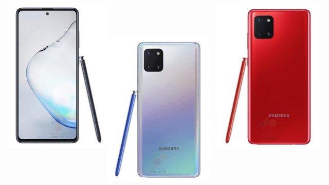 Samsung Galaxy Note 10 Lite: Exynos 9810